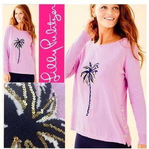 Lilly Pulitzer palm caralynn sweater